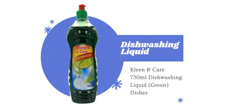 Kleen & Caare dishwashing liquid estacom pty ltd