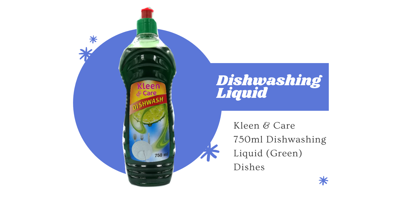 Kleen & Caare dishwashing liquid estacom pty ltd