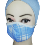 Baby Blue | Cotton Face Mask | Estacom Pty Ltd